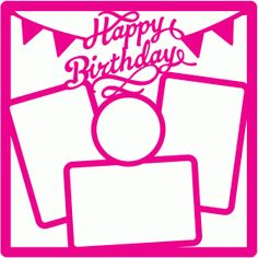 I think I'm in love with this shape from the Silhouette Design Store! Birthday Scrapbook Layouts, Scrapbook Titles, Photo Album Scrapbooking, Scrapbook Page Layouts, Scrapbook Paper, Scrapbooking Ideas, Scrapbook Patterns, Scrapbook Templates, Scrapbook Embellishments