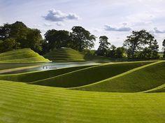 Charles Jencks: Life Mounds, Scotland