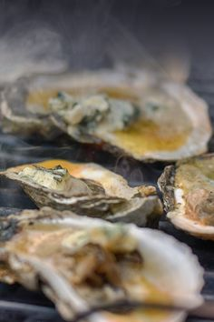 You haven't had oysters until you've had them with Parmesan, bread crumbs, and BACON. This Smoked Oysters Rockefeller recipe from @passthesushi shows you how to add an extra, smoky layer of flavor to create a show-stopping dish for your backyard BBQ. Simply put, these oysters rock. Grill it on the Gas2Coal   Char-Broil