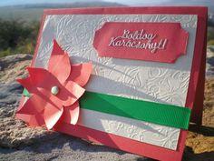 Karácsonyi képeslap - mikulásvirággal  Ha szeretnéd megvásárolni, kattints a képre.