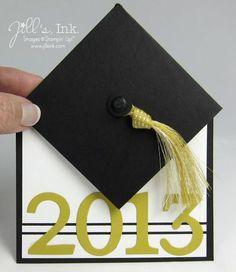 Jill's Ink: Fun Fold Graduation Card mit Video-Anleitung