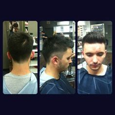 White walled fade by Kelli T. #tribecasalon #kennedyblvd #menshair
