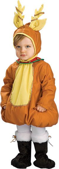 Rubies Costume Festive Reindeer Child Costume One Color Toddler  sc 1 st  Pinterest : reindeer costume baby  - Germanpascual.Com