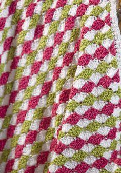 Dewdrops Baby Blanket Crochet Pattern