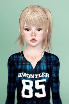 Maya sim female model by silmarillionel - Sims 3 Downloads CC Caboodle