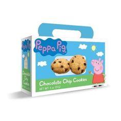 Peppa Pig 5099-12-PP 2 oz.  Chocolate Chip Cookie Box, Pack of 12