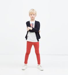 Boys Skinny jeans from Zara - anyone know how skinny they are? Looking from SUPER skinny in the waist for my SUPER slim guy who can't keep his pants up.