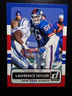 2015 Panini Donruss #171 Lawrence Taylor New York Giants Card #NewYorkGiants