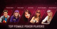 TOP 5 FEMALE POKER PLAYERS #casino #cardgames #onlinecasino