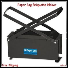 Paper-Log-Briquette-Maker-Eco-Fuel-Brick-Recycle-Newspaper-4-Fireplace-Burner
