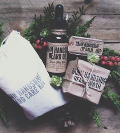 Winter Abbey Ale Beard Care Kit | Men's Grooming | Damn Handsome | Scoutmob Shoppe | Product Detail