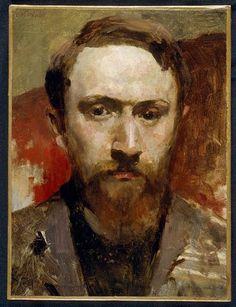 Edouard Vuillard, Self Portrait on ArtStack #edouard-vuillard #art