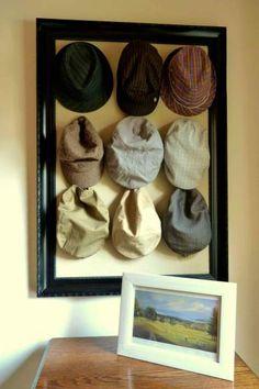 My framed hat rack
