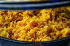 RICE with ginger and lemon