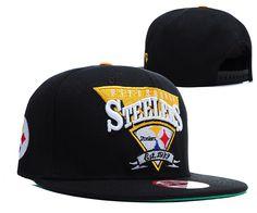 NFL PITTSBURGH STEELERS SNAPBACK NEW ERA BLACK 109 9460|only US$8.90