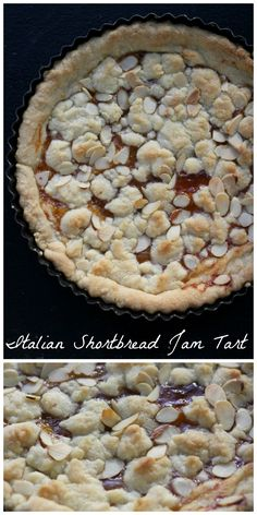 This simple almond shortbread tart looks unassuming, but it will surprise you with how easy it comes together and how delicious and complex its subtle flavors are.