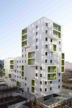공동주택 - Google 검색 아이덴티 공동주거 입면 계획