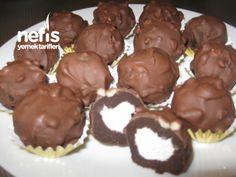 Sante Dolgulu Cikolatali Kek Toplari