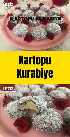 Kartopu Kurabiye Snowball Cookies, Cookie Recipes, Dinner Recipes, Breakfast, Food, Model, Biscuits, Pies, Kuchen