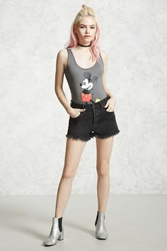 Mickey Mouse Graphic Bodysuit
