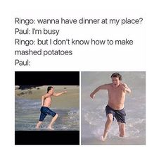 If you haven't seen that video floating around the Internet of Paul making his late wife Linda's mashed potatoes recipes you should definitely go watch it it's awesome