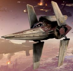 Alpha-3 Nimbus-class V-wing starfighter(Star Wars)