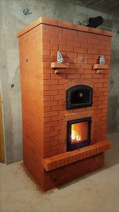 Double bell stove with austrian ecofirebox- 95% efficiency in Romania