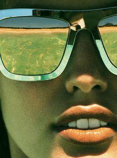 Rockin your shades on the beach #summer
