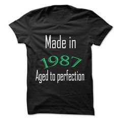 Hot Seller Most special T shirt 1987 T Shirts, Hoodie. Shopping Online Now ==►…