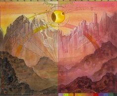 """Montagne, par Terese Nielsen (série spéciale """"Guru"""")."""