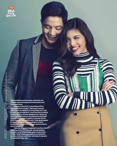 Alden Richards & Maine Mendoza, YES Magazine (January Maine Mendoza, Alden Richards, Yes, Couple Goals, Interview, My Love, People, January 2016, Outfits