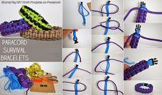 DIY Paracord Survival Bracelet