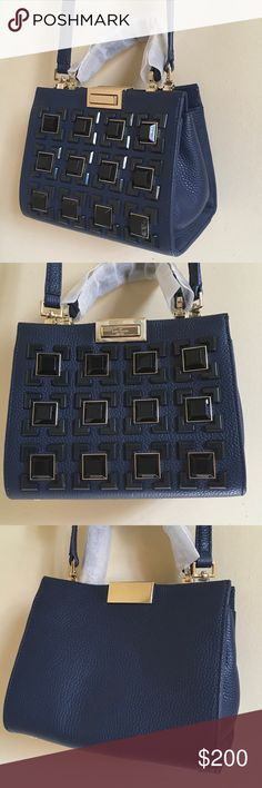 Kate spade mini satchel New without tags, authentic,navy blue color..no lowballing, use offer feature to negotiate or you will be ignored 💕💕 kate spade Bags Satchels