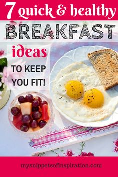 These are my BEST IDEAS for healthy and fast breakfasts!  #ad #pmedia #JDgreatstart @jimmydean
