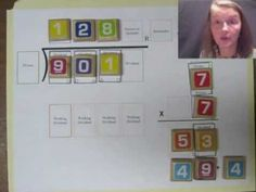 Fun ways to teach math....with printables...long division