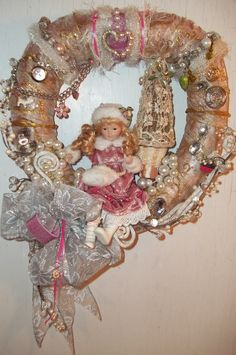 Image detail for -Winter Jewels Wreath by floweringangel on Etsy