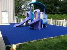 Poured In Place Rubber | Rubberized Playground Surface Solutions