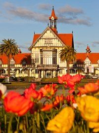 Welcome to Rotorua Museum<------This is absolutely gorgeous
