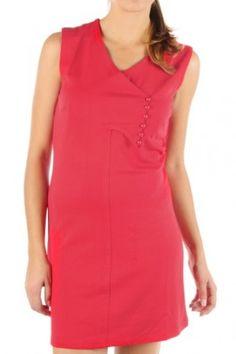 Vero Moda Aware Kleid tomato red