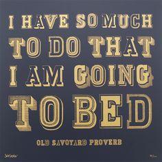 So Much To Do - Midnight