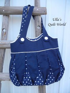 Ulla's Quilt World: Bag, quilts