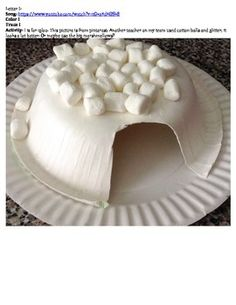 Day to Day MOMents: Easy Marshmallow Igloo - Rainy Day Fun Indoors