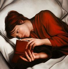 Woman reading - Mary-Jane Ansell - my favourite reading place!