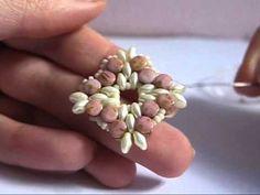 Tutorial | Orecchini Rombik [12° Collab. con Perline & Gioielli] - YouTube