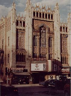Strand Theater in Co. Bluffs, IA......spent many a Saturday afternoon there... I think movies were 50 cents!