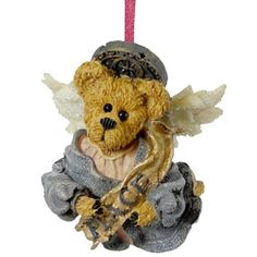 Boyds Bears Resin Celestina Peace Angel Ornament Christmas Bearstone  Resin 300 IN *** Click on the image for additional details.