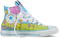 The Lorax Converse High-Top Sneakers. One of my favorite Dr. Seuss books.