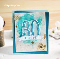 Schüttelkarte – Geburtstagseinladung