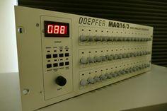 MATRIXSYNTH: DOEPFER MAQ 16/3 MIDI CV Step Sequencer SN 260312