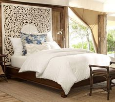 I've always wanted this for a headboard. Now I know I can get it at Pottery Barn for $900..!
